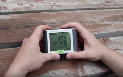 Measure power usage from inside an RV